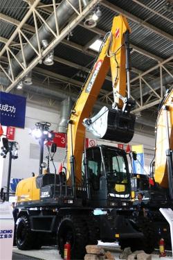 徐工XE150WD挖掘机高清图 - 外观