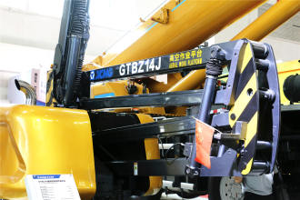 徐工GTBZ14J曲臂式高空作业平台高清图 - 外观