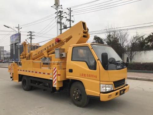 楚胜CSC5061JGKJ16VS型18米直臂高空作业车