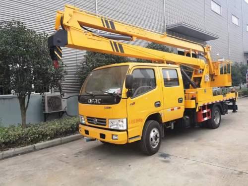 楚胜东风凯普特16米高空作业车