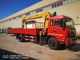 楚胜DFZ5160JSQSZ5D1型8吨随车起重运输车