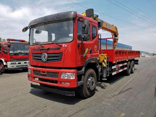 楚胜EQ5251JSQZMA型12吨随车起重运输车