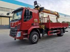 楚胜LZ5181JSQM3AB型随车起重运输车
