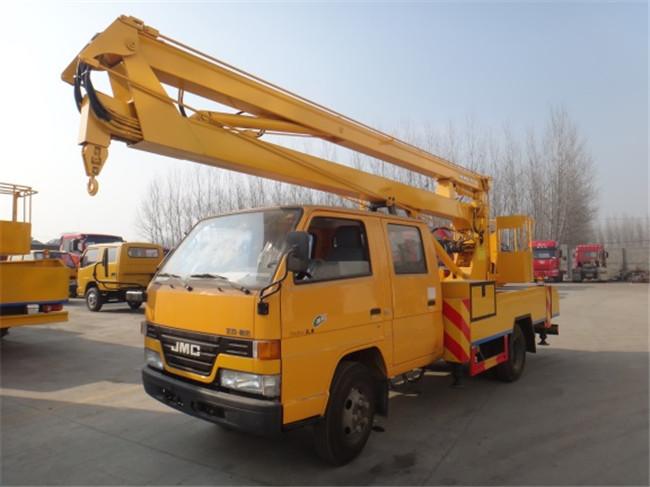 楚胜CSC5041JGKJ12型14米折叠臂高空高清图 - 外观