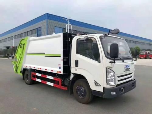 楚胜CSC5081ZYSJ6型5方压缩式垃圾车