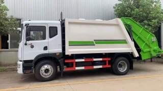 楚胜CSC5181ZYS5型12方压缩式垃圾车