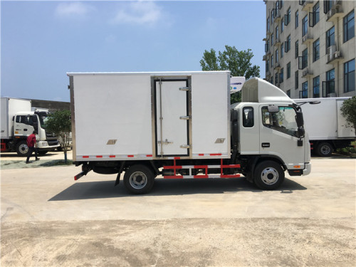 楚胜HFC5043XLCP71K1C2V型冷藏车