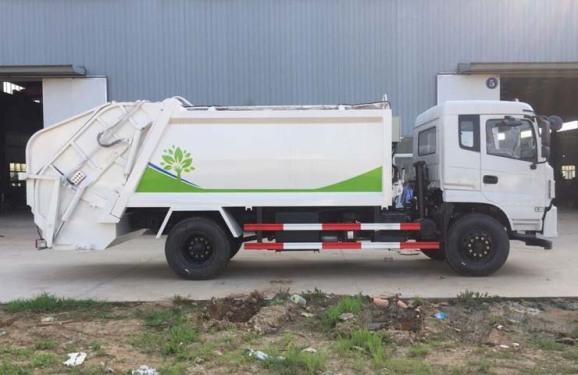 楚胜CSC5180ZYSES型12方压缩式垃圾车