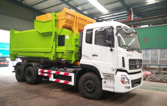 楚胜CSC5250ZXXD6型车厢可卸式垃圾车