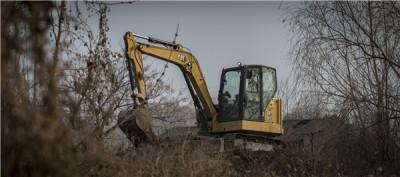 卡特彼勒新一代Cat®306.5迷你型液压挖掘机高清图 - 施工