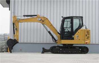 卡特彼勒新一代Cat®306迷你型液压挖掘机高清图 - 外观