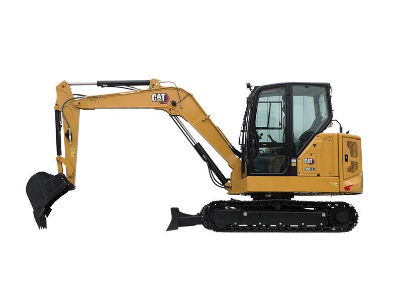 卡特彼勒新一代Cat®306.5迷你型液压挖掘机
