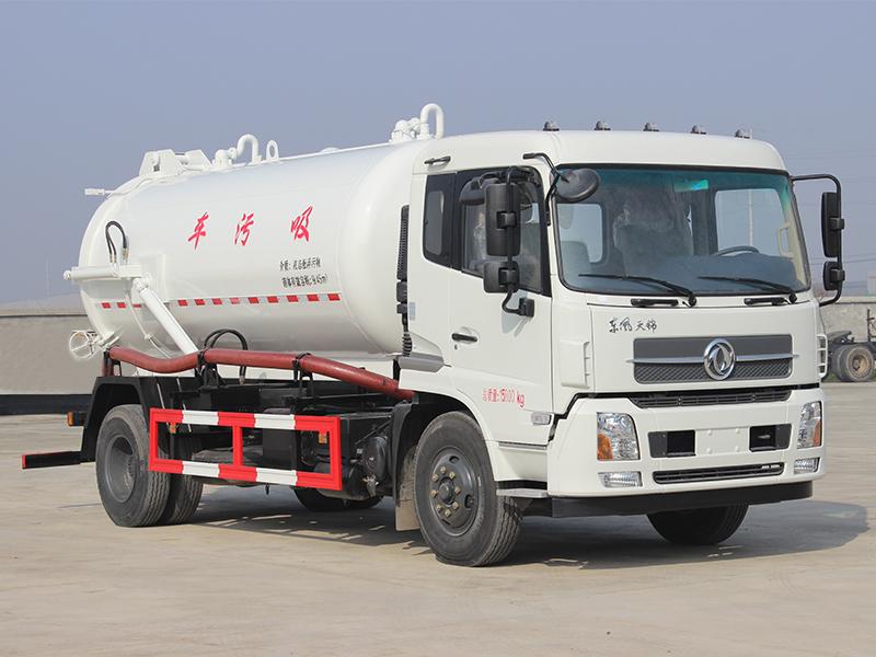 楚胜CSC5161GXWD5A型14方清洗吸污车高清图 - 外观