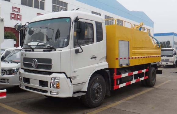 楚勝CSC5161GQWD5型清洗吸污車