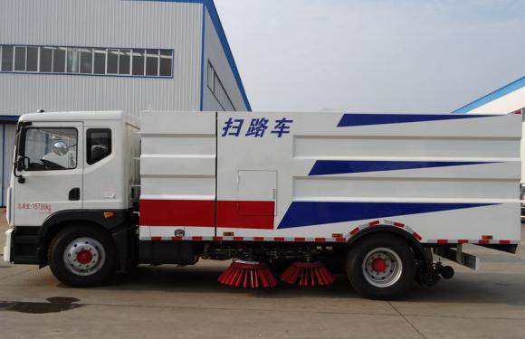 楚胜CLC5165TSLE5型扫路车