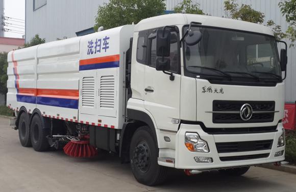 楚胜CLW5250TXSD5型扫路车