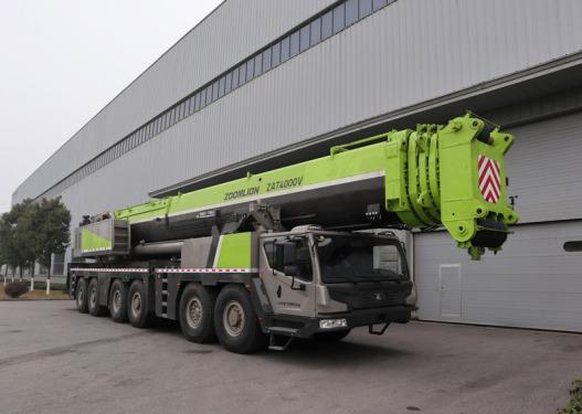 中联重科ZAT4000V553全地面起重机