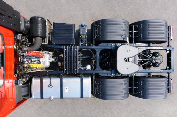 三一重工HQC4252T牵引车高清图 - 外观