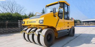 柳工CLG6530輪胎壓路機高清圖 - 外觀