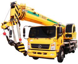 森源重工国标12吨汽车起重机12吨四节臂汽车起重机