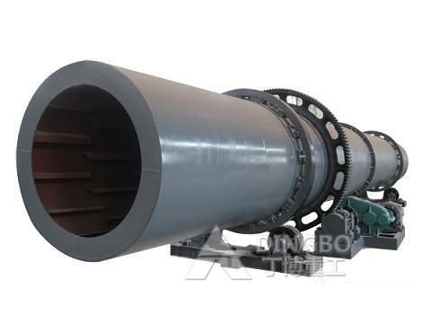 丁博重工Φ1.5*12转筒烘干机高清图 - 外观