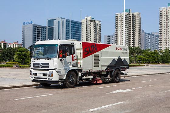 易山重工ESN5180TSL广东湿式清扫车扫路车出租8立方垃圾箱(商家送车上门!)