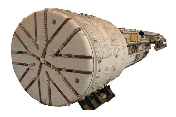 三一重工nishui盾构机械高清图 - 外观