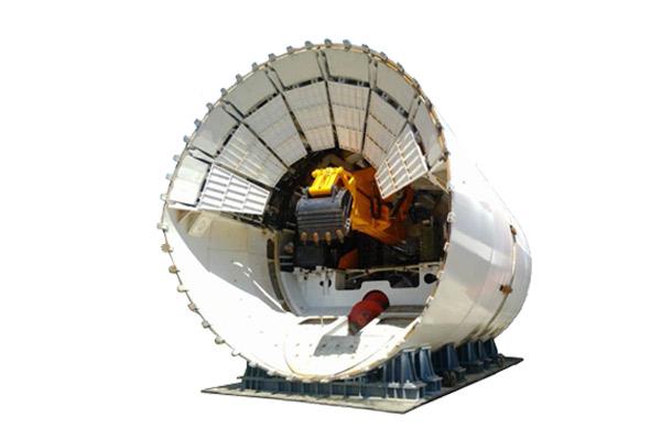 三一重工敞口式盾构机械高清图 - 外观