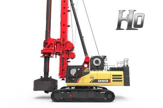 三一重工SR485R-H10旋挖钻机高清图 - 外观
