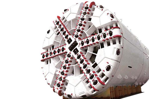 三一重工岩层盾构机械高清图 - 外观