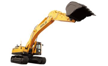 山东临工E6500F大型液压挖掘机高清图 - 外观
