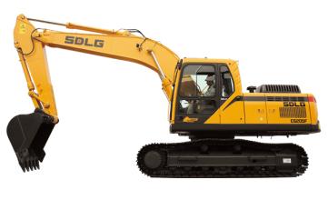 山东临工E6205F中型液压挖掘机高清图 - 外观