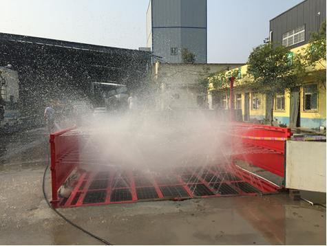 鐵榔頭機械TLL-D工程車輛清洗設備