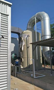 鐵榔頭機械TLP40噴淋洗滌塔