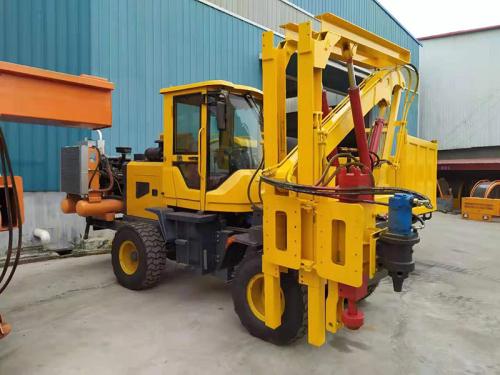 祥瑞重工XR-936装载式护栏打桩机压桩机