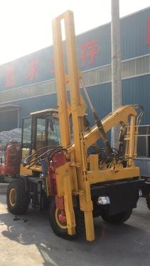 祥瑞重工XR-926护栏打桩机压桩机