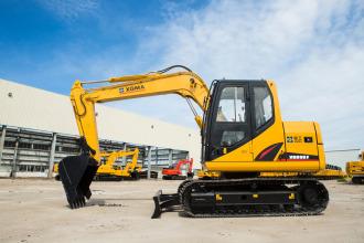 厦工XG809F履带式挖掘机高清图 - 外观