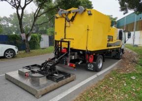 易山重工ESNB-CY1300再生机械沥青路面热再生修补车
