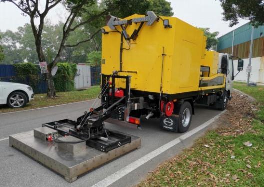 易山重工ESNB-CY1300再生亚搏直播视频app沥青路面热再生修补车