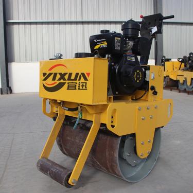 宜迅YX-70C手扶单钢轮压路机高清图 - 外观