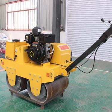 宜迅YX-600C手扶式双钢轮压路机高清图 - 外观