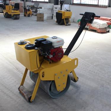 宜迅YX-60Q手扶式单钢轮压路机 汽油款