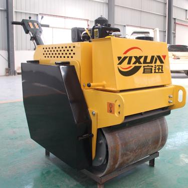 宜迅YX-600C手扶双钢轮压路机