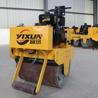 宜迅YX-70C手扶式单钢轮压路机