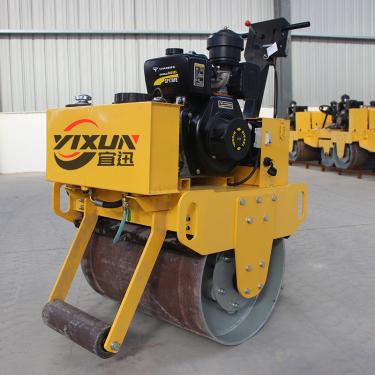 宜迅YX-70C  手扶式单钢轮压路机高清图 - 外观