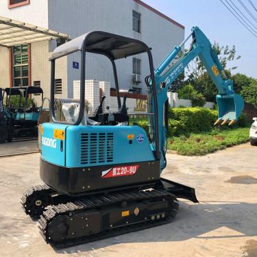 驭工YG20-9U小型挖掘机无尾式农用挖掘机