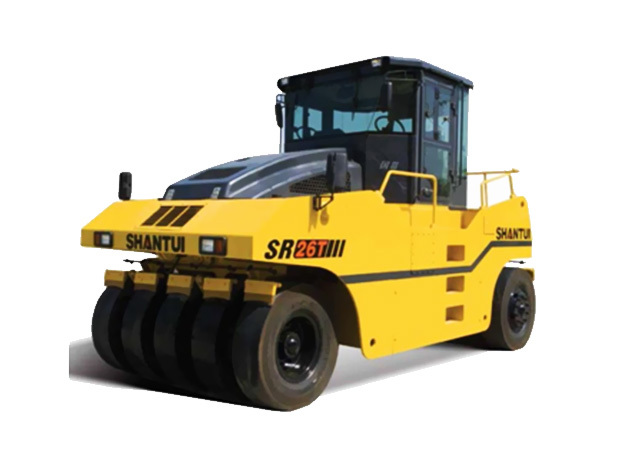 山推SR26T轮胎压路机