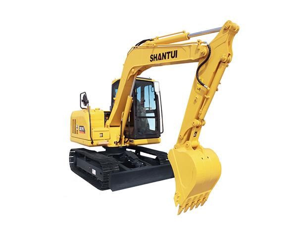 山推挖掘机SE75-9W(配潍柴发动机版)挖掘机高清图 - 外观