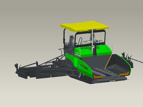 山推SRP90S多功能伸缩摊铺机高清图 - 外观