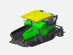 山推SRP95M多功能摊铺机高清图 - 外观